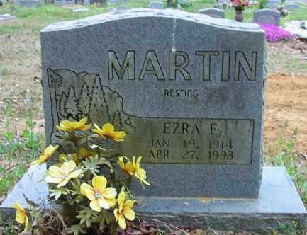 MARTIN, EZRA E - Cleburne County, Arkansas | EZRA E MARTIN - Arkansas Gravestone Photos