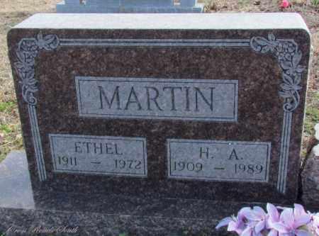 MARTIN, ETHEL - Cleburne County, Arkansas   ETHEL MARTIN - Arkansas Gravestone Photos