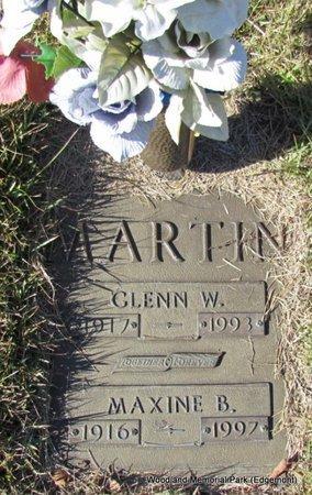 MARTIN, MAXINE B - Cleburne County, Arkansas | MAXINE B MARTIN - Arkansas Gravestone Photos