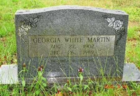 MARTIN, GEORGIA - Cleburne County, Arkansas   GEORGIA MARTIN - Arkansas Gravestone Photos