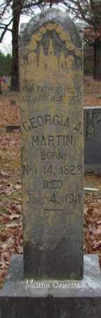 MARTIN, GEORGIA A - Cleburne County, Arkansas | GEORGIA A MARTIN - Arkansas Gravestone Photos