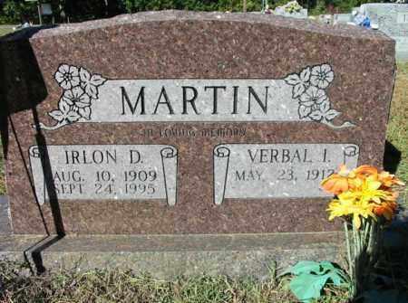 MARTIN, IRLON DONTON - Cleburne County, Arkansas | IRLON DONTON MARTIN - Arkansas Gravestone Photos