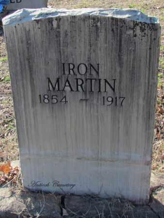MARTIN, IRON - Cleburne County, Arkansas   IRON MARTIN - Arkansas Gravestone Photos