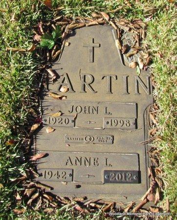 MARTIN, ANNE L - Cleburne County, Arkansas | ANNE L MARTIN - Arkansas Gravestone Photos