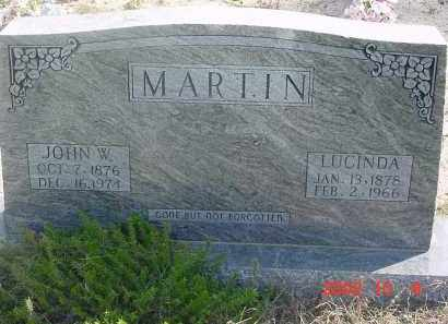 MARTIN, JOHN W. - Cleburne County, Arkansas   JOHN W. MARTIN - Arkansas Gravestone Photos