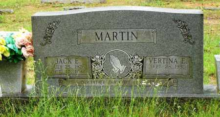 MARTIN, JACK E - Cleburne County, Arkansas   JACK E MARTIN - Arkansas Gravestone Photos