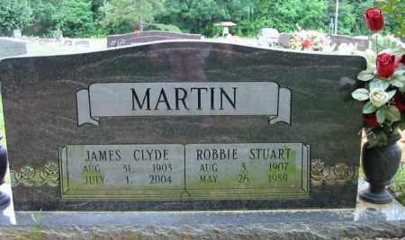 MARTIN, JAMES CLYDE - Cleburne County, Arkansas | JAMES CLYDE MARTIN - Arkansas Gravestone Photos