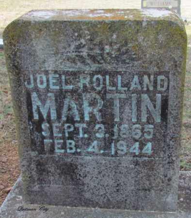MARTIN, JOEL ROLLAND - Cleburne County, Arkansas   JOEL ROLLAND MARTIN - Arkansas Gravestone Photos