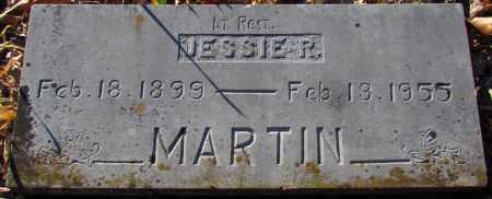 MARTIN, JESSIE R - Cleburne County, Arkansas   JESSIE R MARTIN - Arkansas Gravestone Photos