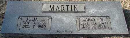 MARTIN, LARRY W - Cleburne County, Arkansas | LARRY W MARTIN - Arkansas Gravestone Photos