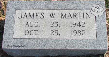 MARTIN, JAMES W - Cleburne County, Arkansas | JAMES W MARTIN - Arkansas Gravestone Photos