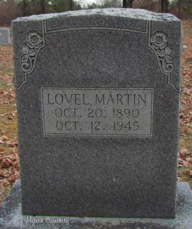 MARTIN, LOVEL - Cleburne County, Arkansas | LOVEL MARTIN - Arkansas Gravestone Photos