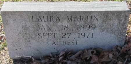 MARTIN, LAURA - Cleburne County, Arkansas | LAURA MARTIN - Arkansas Gravestone Photos