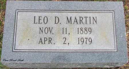 MARTIN, LEO D - Cleburne County, Arkansas | LEO D MARTIN - Arkansas Gravestone Photos