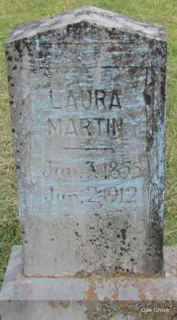 MARTIN, LAURA - Cleburne County, Arkansas   LAURA MARTIN - Arkansas Gravestone Photos