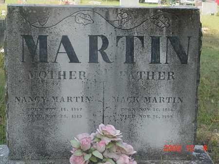 MARTIN, MACK - Cleburne County, Arkansas | MACK MARTIN - Arkansas Gravestone Photos