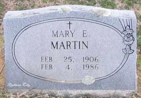 MARTIN, MARY E - Cleburne County, Arkansas | MARY E MARTIN - Arkansas Gravestone Photos