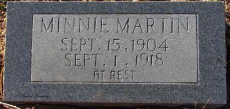 MARTIN, MINNIE - Cleburne County, Arkansas | MINNIE MARTIN - Arkansas Gravestone Photos