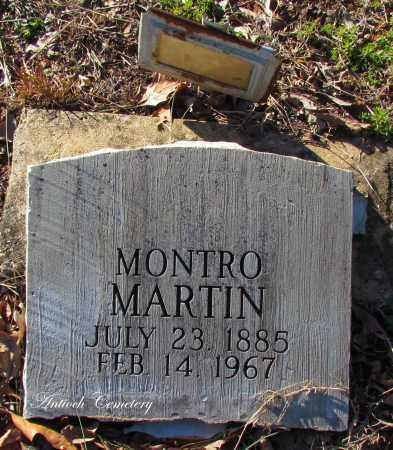 MARTIN, MONTRO - Cleburne County, Arkansas | MONTRO MARTIN - Arkansas Gravestone Photos