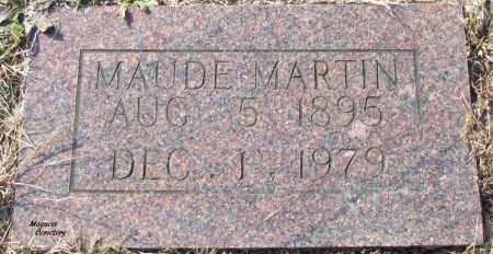 MARTIN, MAUDE - Cleburne County, Arkansas | MAUDE MARTIN - Arkansas Gravestone Photos