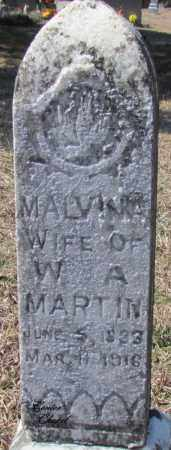 MARTIN, MALVINA - Cleburne County, Arkansas | MALVINA MARTIN - Arkansas Gravestone Photos