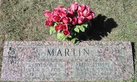 MARTIN, FREDA EVELENE - Cleburne County, Arkansas | FREDA EVELENE MARTIN - Arkansas Gravestone Photos