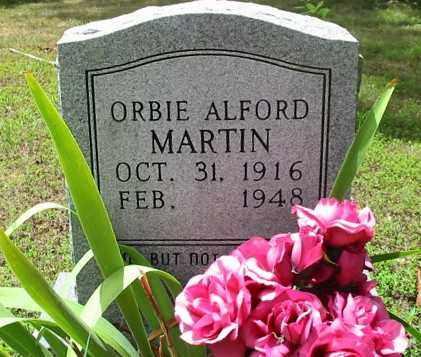 "MARTIN, ORBA ALFORD ""ORBIE"" - Cleburne County, Arkansas | ORBA ALFORD ""ORBIE"" MARTIN - Arkansas Gravestone Photos"