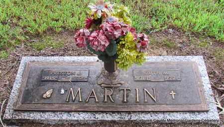 MARTIN, RUTH M - Cleburne County, Arkansas | RUTH M MARTIN - Arkansas Gravestone Photos