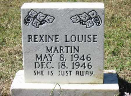 MARTIN, REXINE LOUISE - Cleburne County, Arkansas | REXINE LOUISE MARTIN - Arkansas Gravestone Photos