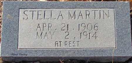 MARTIN, STELLA - Cleburne County, Arkansas | STELLA MARTIN - Arkansas Gravestone Photos