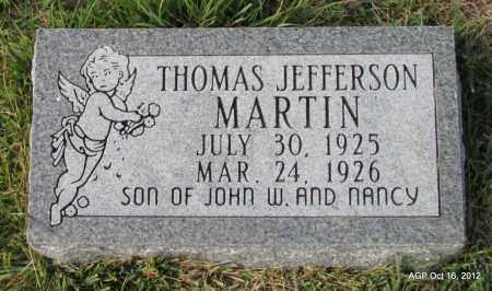 MARTIN, THOMAS JEFFERSON - Cleburne County, Arkansas   THOMAS JEFFERSON MARTIN - Arkansas Gravestone Photos