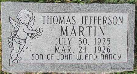 MARTIN, THOMAS JEFFERSON - Cleburne County, Arkansas | THOMAS JEFFERSON MARTIN - Arkansas Gravestone Photos