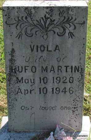 MARTIN, VIOLA - Cleburne County, Arkansas   VIOLA MARTIN - Arkansas Gravestone Photos