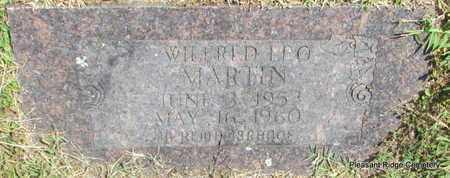 MARTIN, WILFRED LEO - Cleburne County, Arkansas | WILFRED LEO MARTIN - Arkansas Gravestone Photos