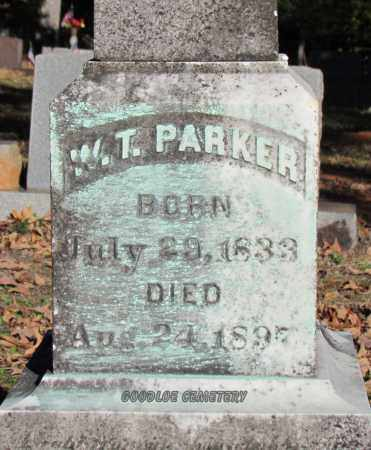 PARKER, W T (DETAILED) - Cleburne County, Arkansas | W T (DETAILED) PARKER - Arkansas Gravestone Photos