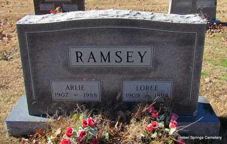 RAMSEY, ARLIE - Cleburne County, Arkansas | ARLIE RAMSEY - Arkansas Gravestone Photos