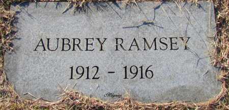 RAMSEY, AUBREY - Cleburne County, Arkansas   AUBREY RAMSEY - Arkansas Gravestone Photos