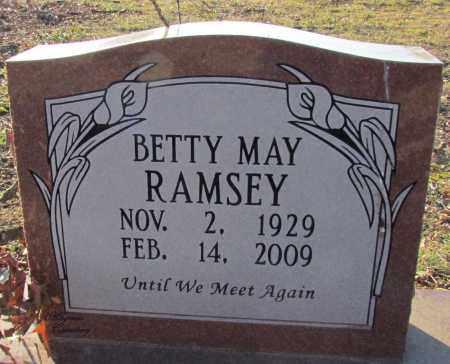 RAMSEY, BETTY MAY - Cleburne County, Arkansas | BETTY MAY RAMSEY - Arkansas Gravestone Photos
