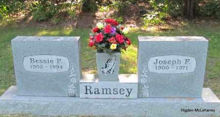 RAMSEY, BESSIE P - Cleburne County, Arkansas | BESSIE P RAMSEY - Arkansas Gravestone Photos