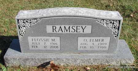 RAMSEY, FLOSSIE M - Cleburne County, Arkansas | FLOSSIE M RAMSEY - Arkansas Gravestone Photos
