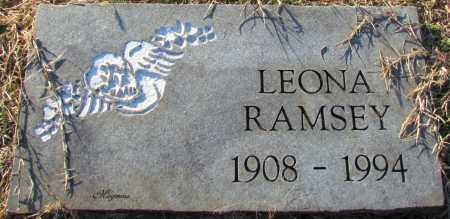 RAMSEY, LEONA - Cleburne County, Arkansas   LEONA RAMSEY - Arkansas Gravestone Photos