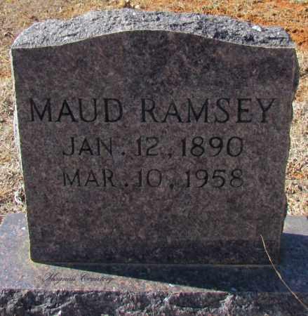 RAMSEY, MAUD - Cleburne County, Arkansas   MAUD RAMSEY - Arkansas Gravestone Photos
