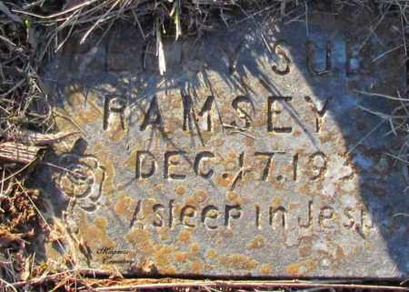 RAMSEY, PEGGY SUE - Cleburne County, Arkansas   PEGGY SUE RAMSEY - Arkansas Gravestone Photos