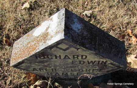 RAMSEY, RICHARD EDWIN - Cleburne County, Arkansas   RICHARD EDWIN RAMSEY - Arkansas Gravestone Photos