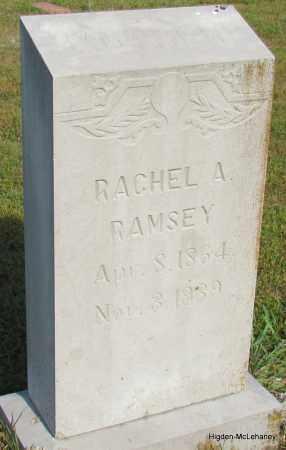 RAMSEY, RACHEL A - Cleburne County, Arkansas | RACHEL A RAMSEY - Arkansas Gravestone Photos