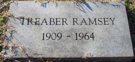 RAMSEY, TREABER - Cleburne County, Arkansas   TREABER RAMSEY - Arkansas Gravestone Photos