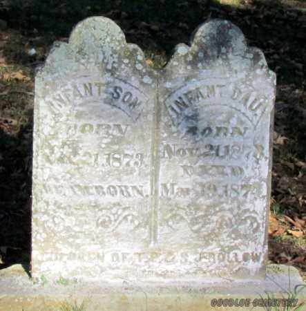 ROLLOW, INFANT SON (DETAILED) - Cleburne County, Arkansas | INFANT SON (DETAILED) ROLLOW - Arkansas Gravestone Photos
