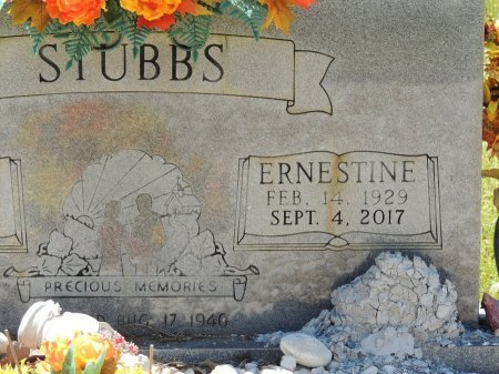 STUBBS, ERNESTINE - Cleburne County, Arkansas | ERNESTINE STUBBS - Arkansas Gravestone Photos