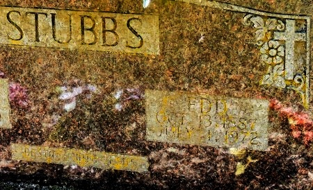STUBBS, WILLIAM EDD (CLOSE UP) - Cleburne County, Arkansas | WILLIAM EDD (CLOSE UP) STUBBS - Arkansas Gravestone Photos