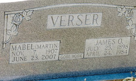 MARTIN VERSER, LAURA MABEL - Cleburne County, Arkansas | LAURA MABEL MARTIN VERSER - Arkansas Gravestone Photos
